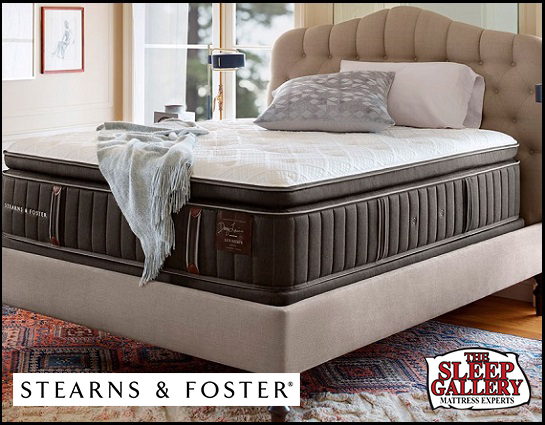 Stearns  Foster Lux Estate Collection